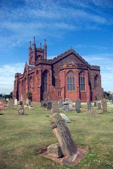 Dunbar Parish Church Royalty Free Stock Images