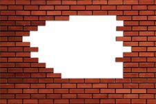 Free Brick Wall Stock Photo - 15109450