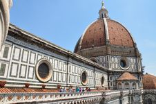 Free The Duomo Rooftop Tour Florence Stock Photography - 15109632