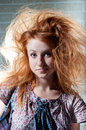 Free Redhaired Mysterious Woman Stock Photo - 15111510