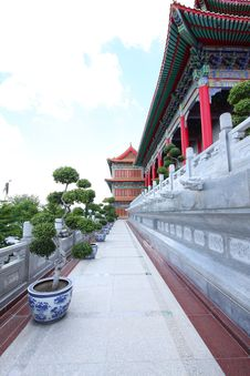 Free The Big Chinese Temple. Royalty Free Stock Photo - 15110245