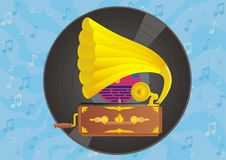 Free Vinyl Gramophone Discs. Royalty Free Stock Photos - 15110658