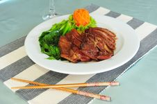 Free Chinese Roast Duck Royalty Free Stock Photography - 15110807