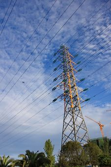 Free High Voltage Tower Stock Photo - 15110950