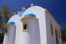 Free Greek Church Stock Image - 15111731
