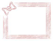 Free Isolated Elegant Frame With Staple Stock Photo - 15111750