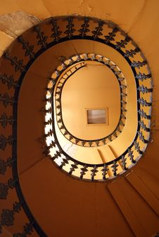 Free Spiral Staircase Stock Image - 15112551