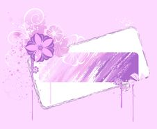 Free Banner Painted Pink Paint Stock Photo - 15113340