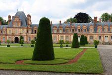 Fontainebleau Palace Royalty Free Stock Image