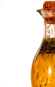 Free Bottle Of Oil Close-up Royalty Free Stock Photography - 15114307