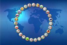 European Union Countries Stock Image