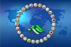 European Union Countries Stock Photography