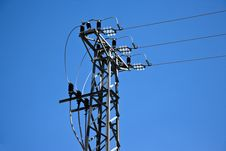 Free Cable Cuttent Tower Royalty Free Stock Photos - 15115088