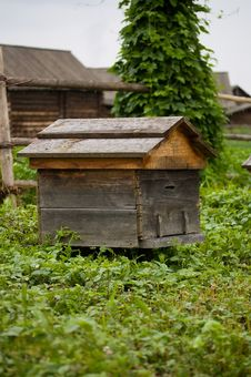 Old Beehive Stock Photo