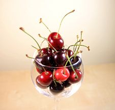 Free Fresh Ripe Cherries Stock Photos - 15116413