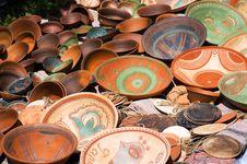 Free Ceramic Plates Royalty Free Stock Photos - 15117278