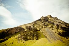 Free Mountain At Skogafoss, Iceland Stock Photos - 15117283