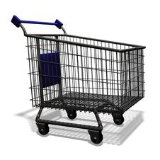 Free Shopping Cart Stock Images - 15118864