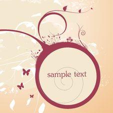 Free Floral Frame Stock Image - 15119321