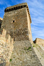 Free Wall And Tower Of Genoese Fortress Royalty Free Stock Photos - 15125178