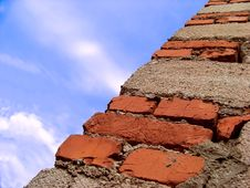 Free Edge Walls Of Stone And Brick Stock Photos - 15120323
