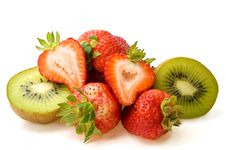 Free Kiwi And Strawberries Stock Image - 15120571