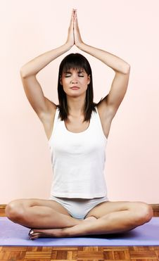 Yoga Meditation Stock Images