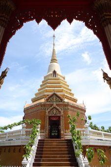Free Spherical Pagoda Shape With Glass Lotus Base Royalty Free Stock Photos - 15122798