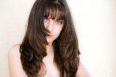 Free Beautiful Brown Hair Girl Stock Photos - 15123863