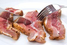 Free Bacon Slices Stock Photos - 15124823