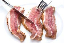 Free Bacon Slices Stock Photos - 15124833