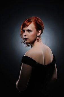 Free Beautiful Redhead Woman Stock Image - 15125151