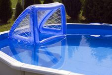 Free Water Polo Goal Stock Photography - 15125152