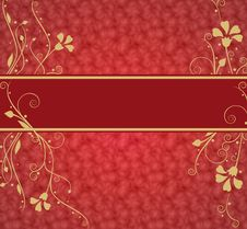 Free Red Luxurious Background With Place For Text Royalty Free Stock Photo - 15125365