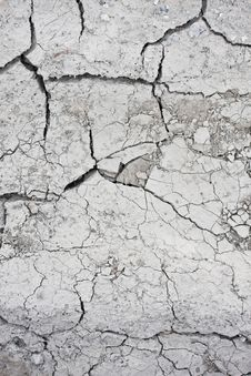 Dry And Cracked Ground Royalty Free Stock Photography