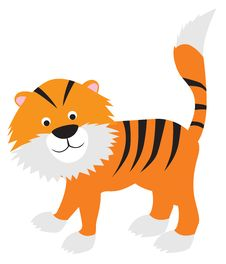 Free Tiger Cartoon Royalty Free Stock Images - 15125789