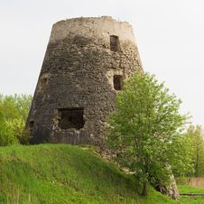 Free Ruins Of Old Mill Stock Photos - 15129723