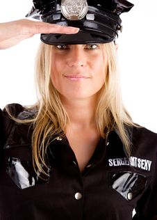 Free Policewoman Is On Duty Royalty Free Stock Photos - 15129728