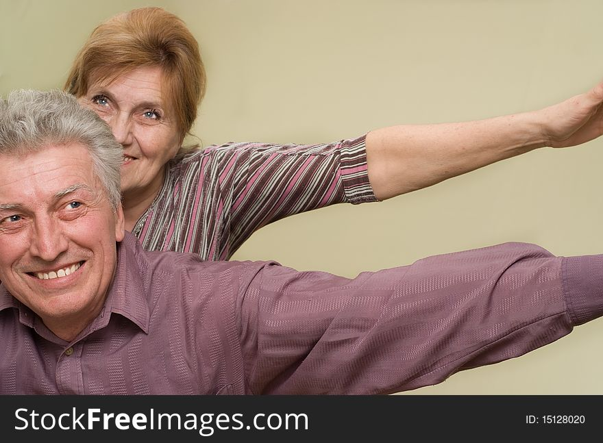 Happy Elderly Couple Free Stock Images Photos 15128020