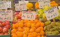 Free Fruits For Sale On Market Stall. Royalty Free Stock Photography - 15130367