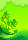 Free Summer Vacation Banner Stock Image - 15131071
