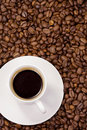 Free Cup At Coffee Beans Stock Photo - 15133180