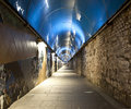 Free Tunnel Blue Stock Image - 15133251