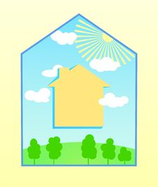 Free My Happy House Royalty Free Stock Images - 15130049