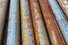 Free Rotten Pipes Royalty Free Stock Image - 15130636