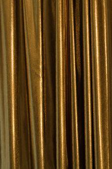 Free Golden Curtain Royalty Free Stock Photos - 15130688