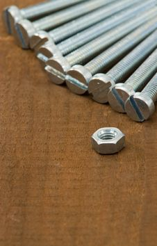 Free Nut And Screws Stock Photos - 15130783