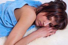 Free Girl Sleeping Stock Image - 15130971