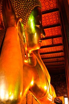 Free Buddha Statue Of Wat Pho Thailand Stock Images - 15131554