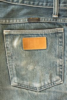 Free Jeans Pocket Stock Photo - 15131600